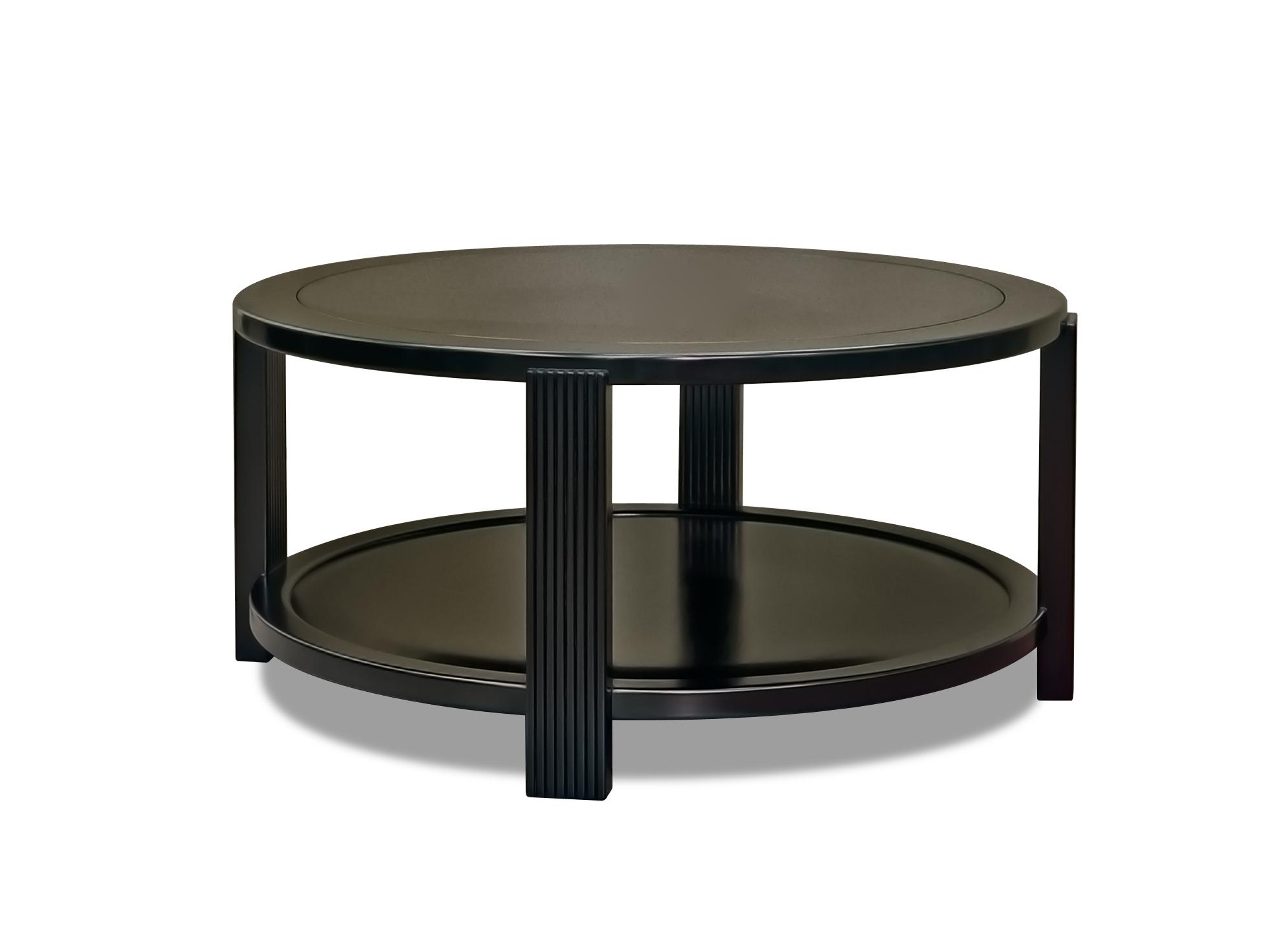 ....Art Deco style furniture : Round Coffee Table..艺术装饰风格家具: 圆咖啡台....
