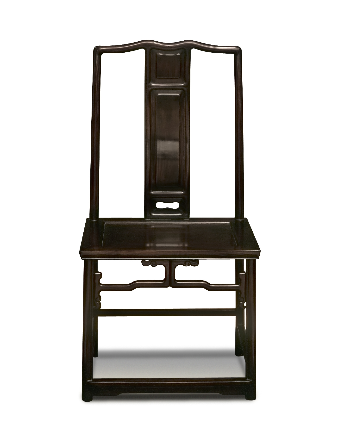 ....Qing Style Chinese furniture : Side chair..明式清式家具: 靠背椅....