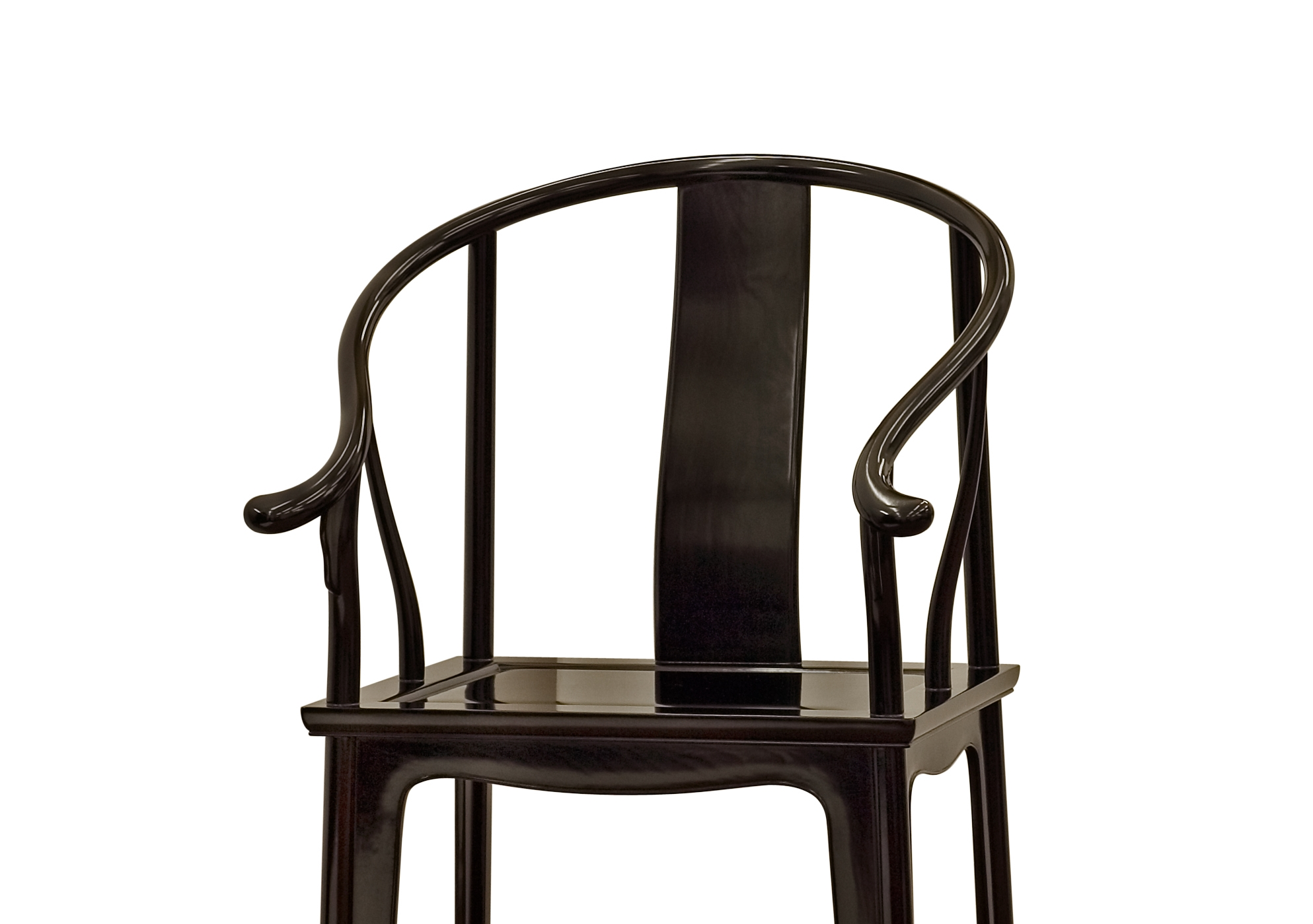 ....Ming Style Chinese furniture : Horseshoe armchair..明式中式家具: 圈椅....