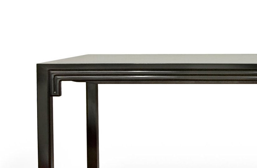....Ming Style Chinese furniture : Extendable Dining Table..明式中式家具: 拉开餐台....