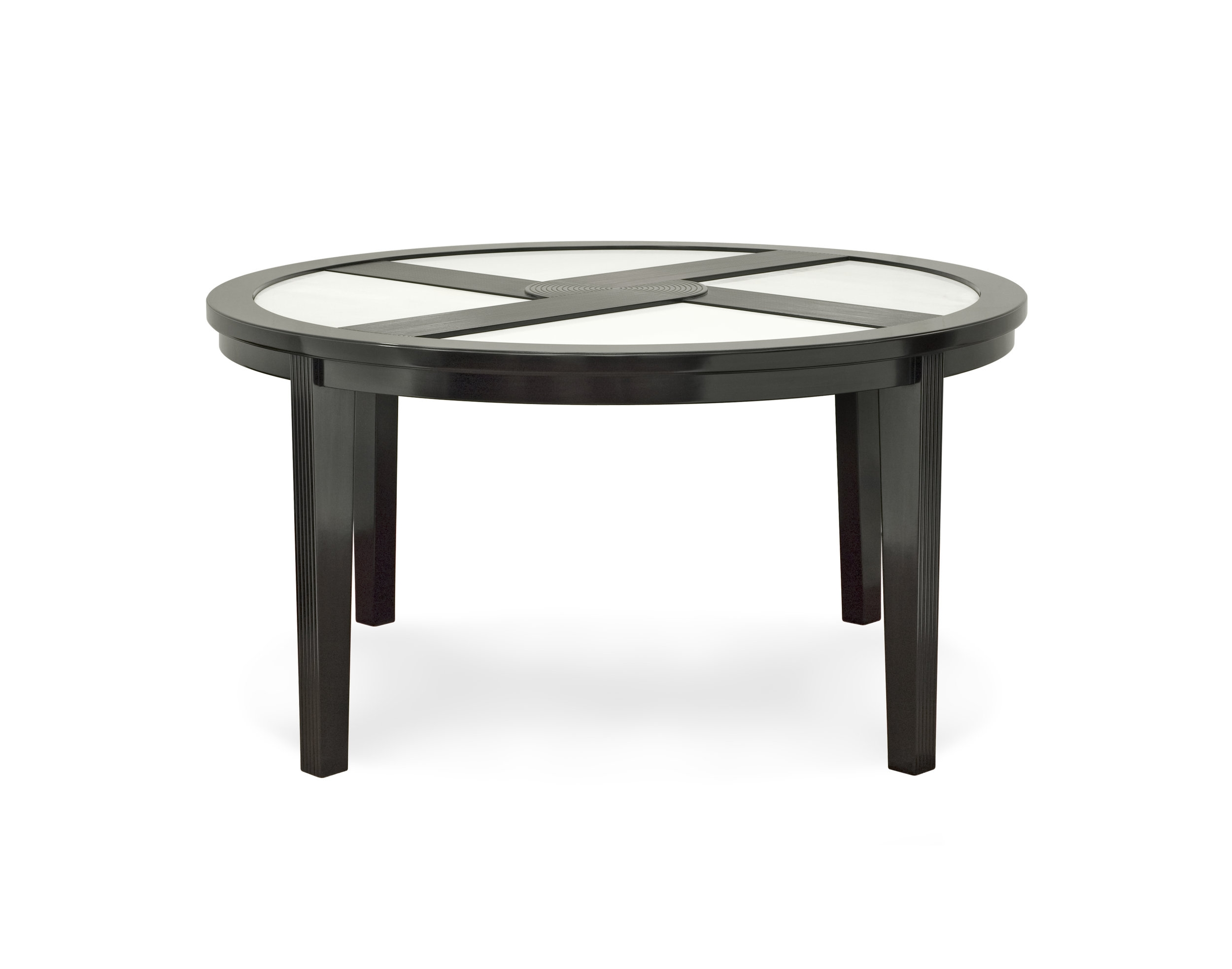....Art Deco Style furniture : Round Dining Table..艺术装饰风格家具: 圆餐台....