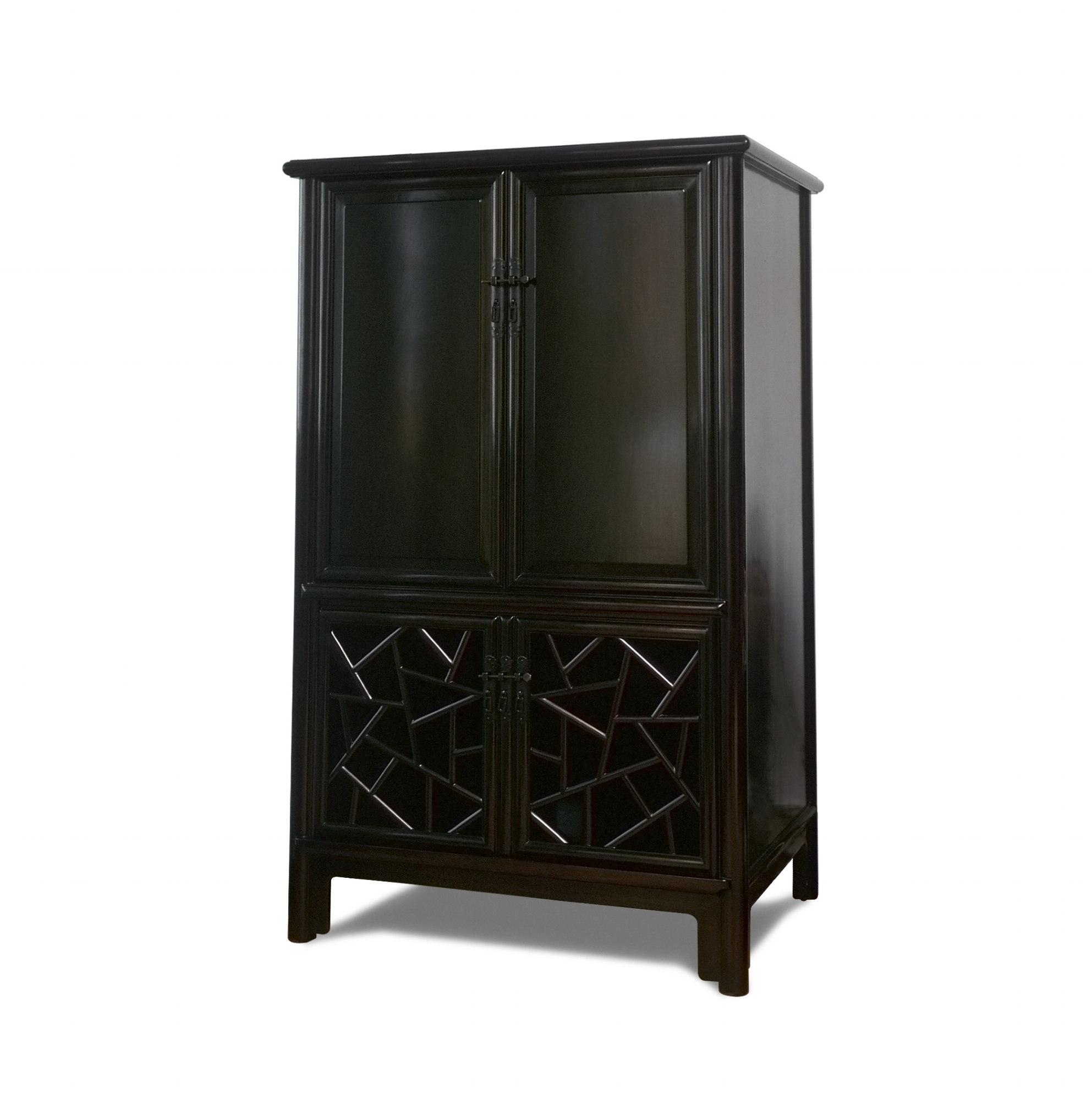 ....Chinese Ming style furniture : cabinet..中式明式家具:面条柜....