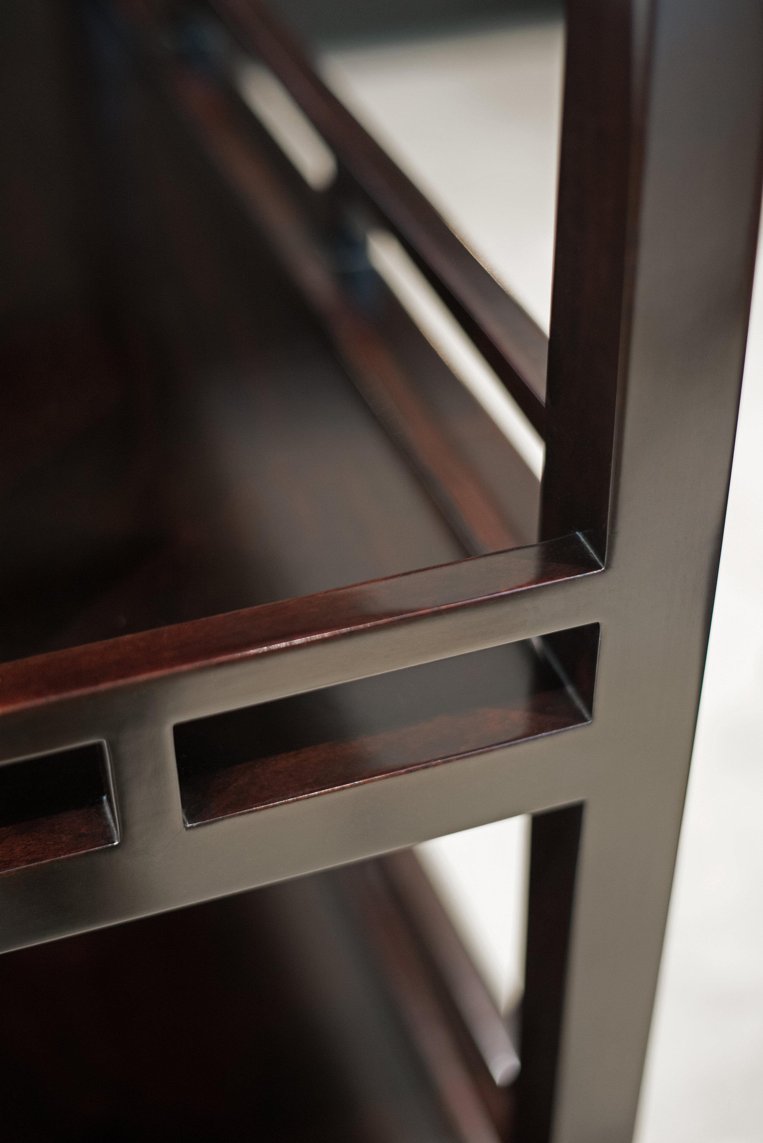 ....modern chinese style furniture | shelf : sh 4..现代中式家具 | 书架:SH 4....