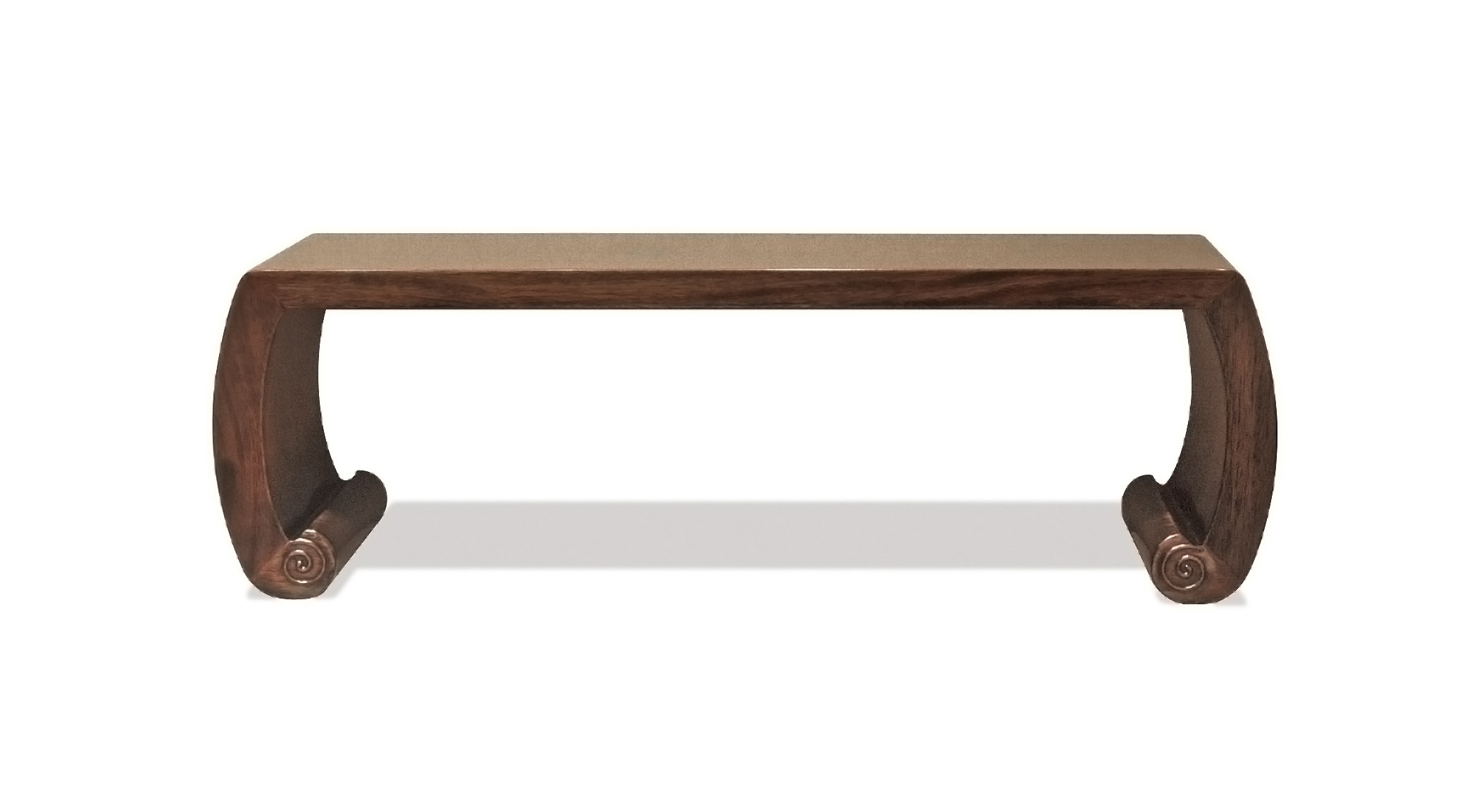 ....chinese ming style furniture : scroll table..中式明式家具 : 炕台....