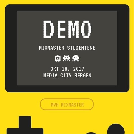 Akkurat nå; DEMO på MCB ✨ #mediacitybergen #infomediauib #uibutdanning