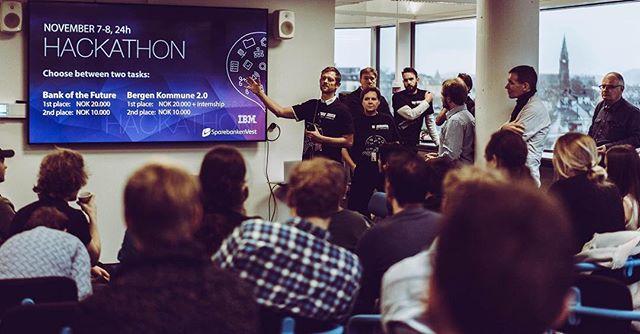 Flere av Mixmaster-studentene deltar på Hackathon med NCE Media 7-9. november ✨ Foto: GunFilm #infomediauib #mediacitybergen #uibutdanning
