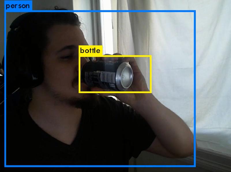 Bilde 1, bildetekst: crowdKnowledge i aksjon (skjermbilde fra en live videostrøm)