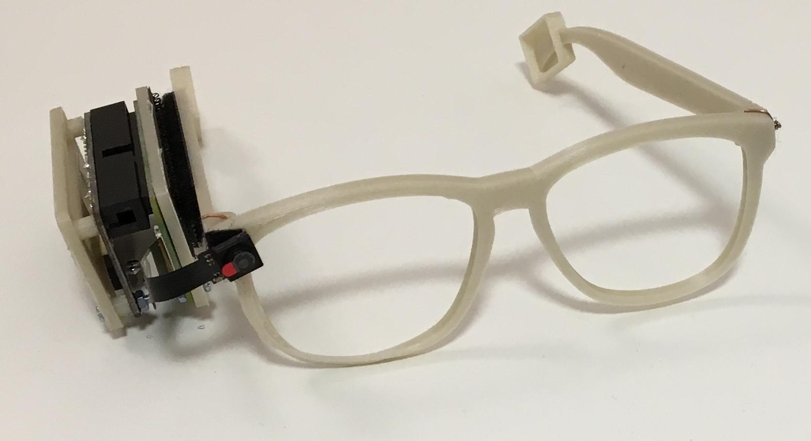 IDEM: brilleramme med mikro-computer og kamera