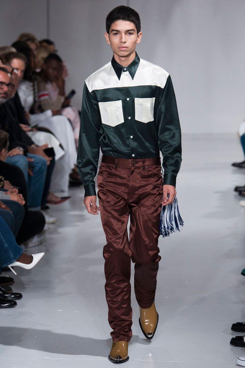 Raf at  Calvin Klein  SS18