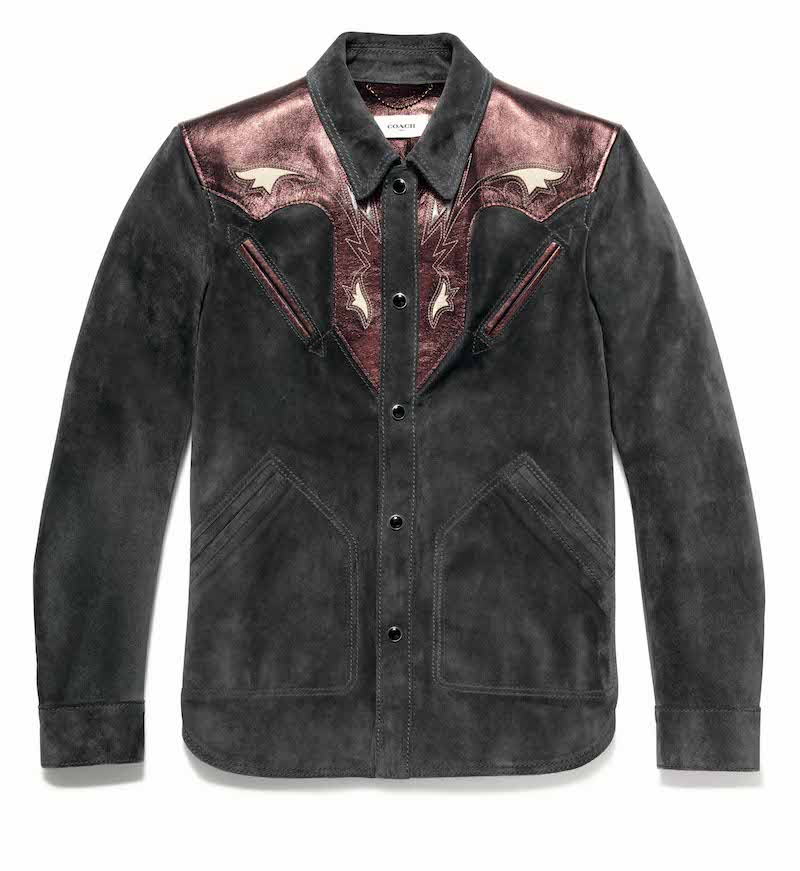 Coach suede shirt. Almost like a jacket. Be good if it was dead fitted, no?