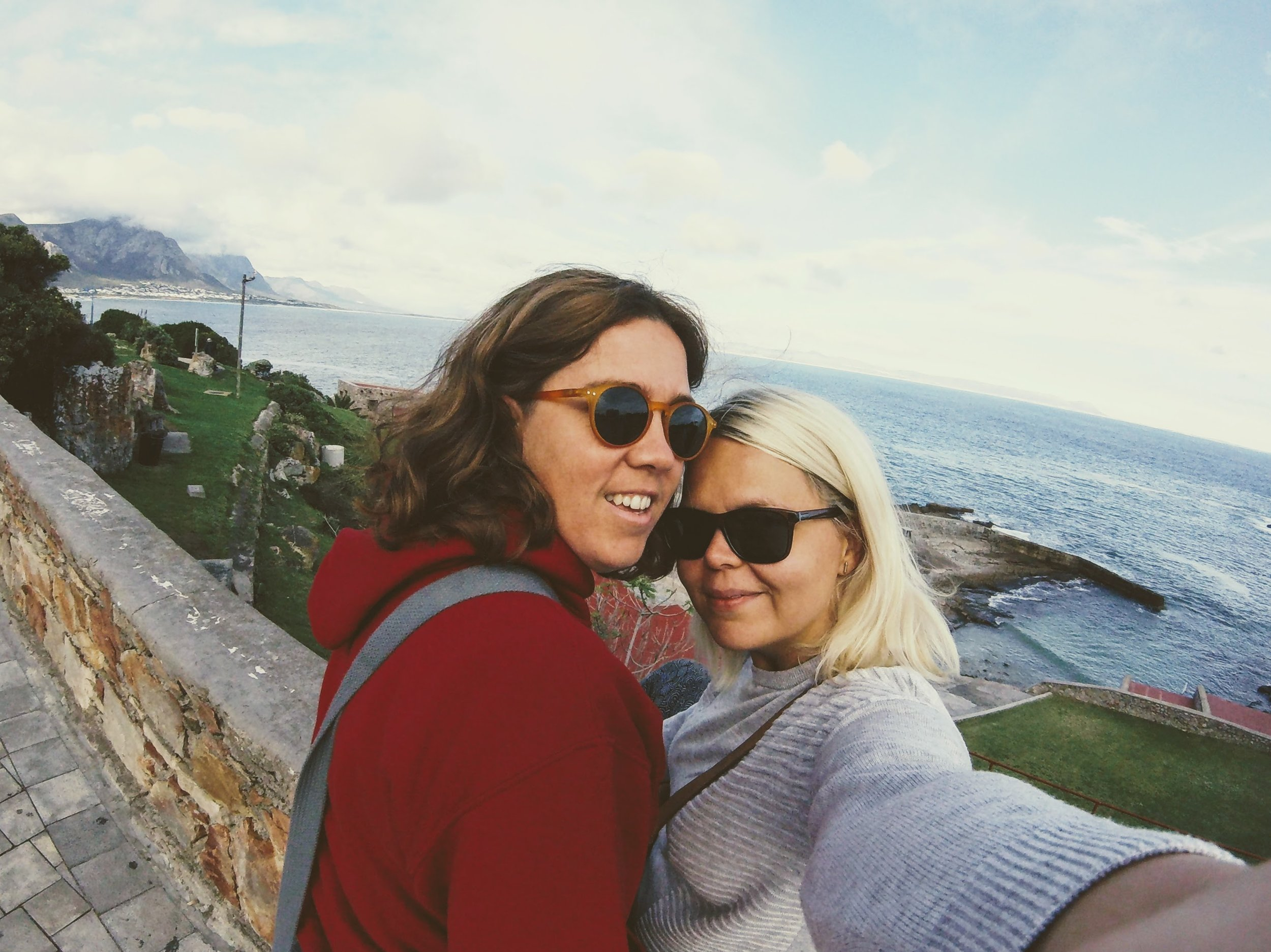 Hermanus with Triin & Charlene