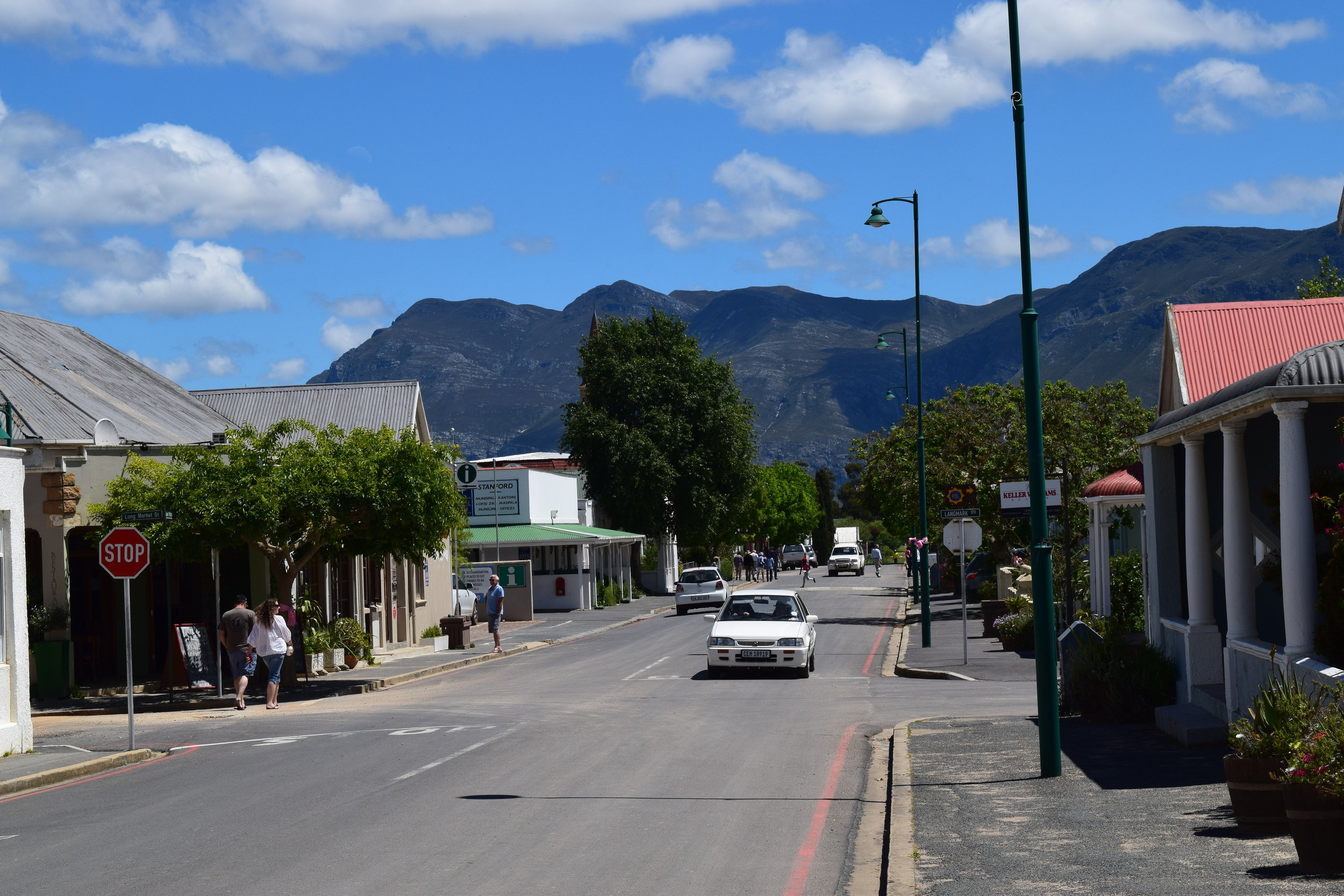 Passing through a small town in South Africa