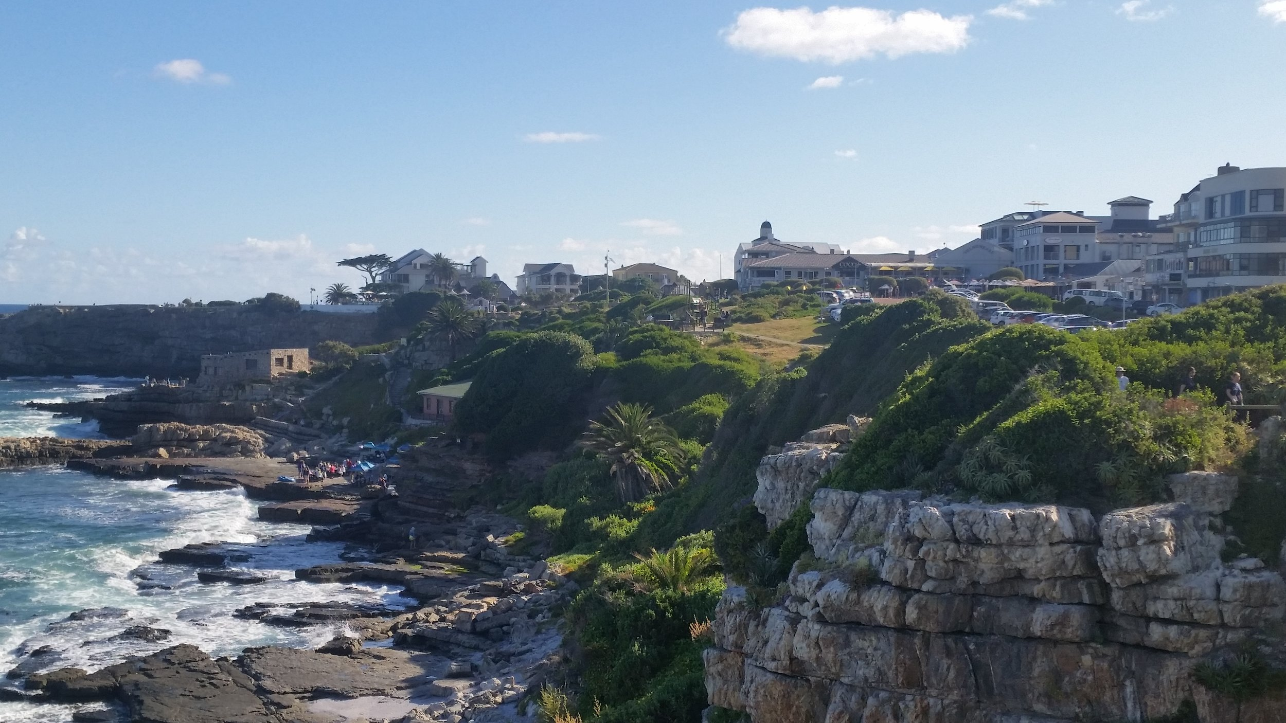 Hermanus coastline