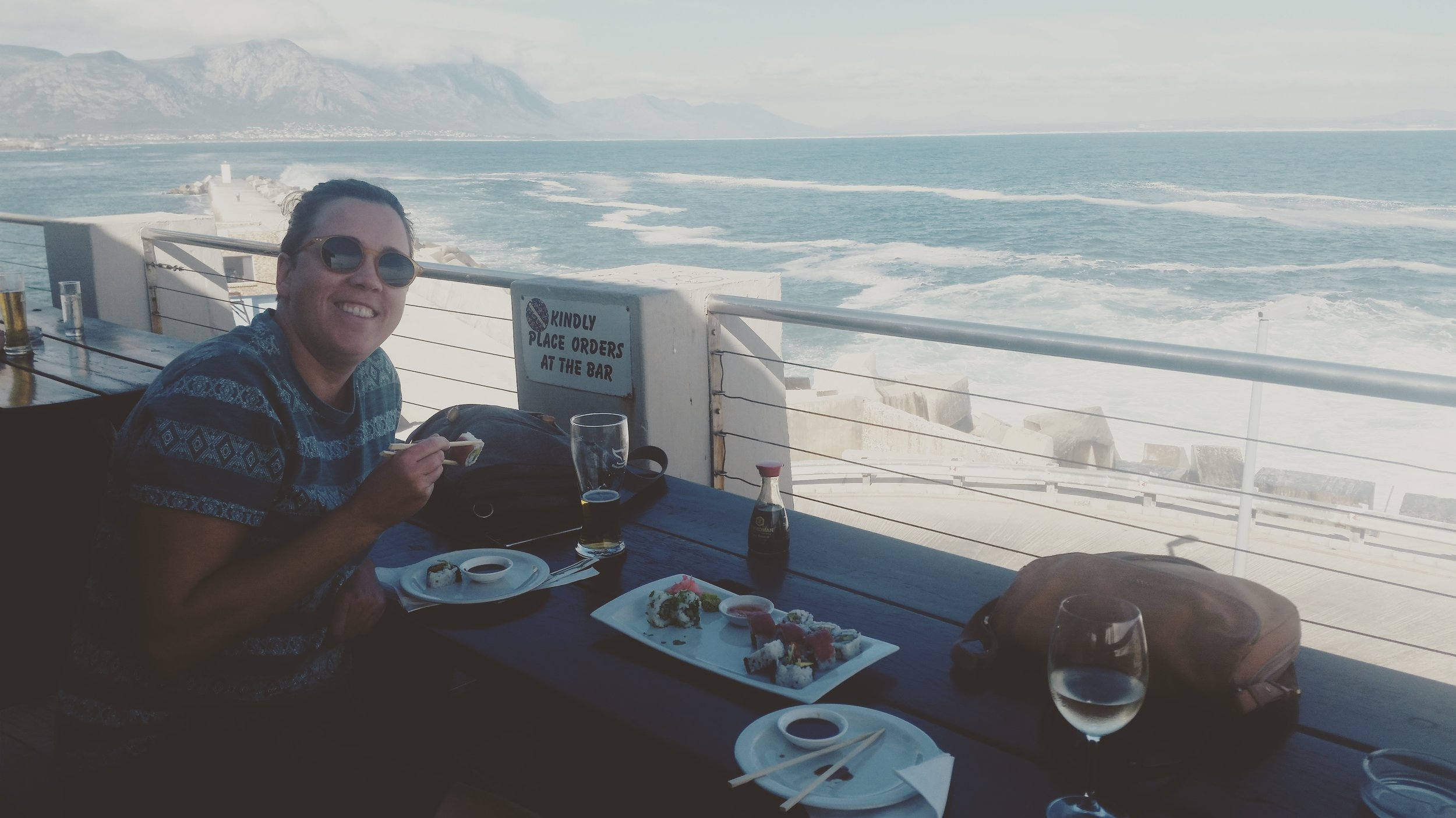Excellent seafood in Hermanus restaurants with a view