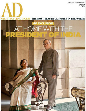 Architectural Digest   January 2015