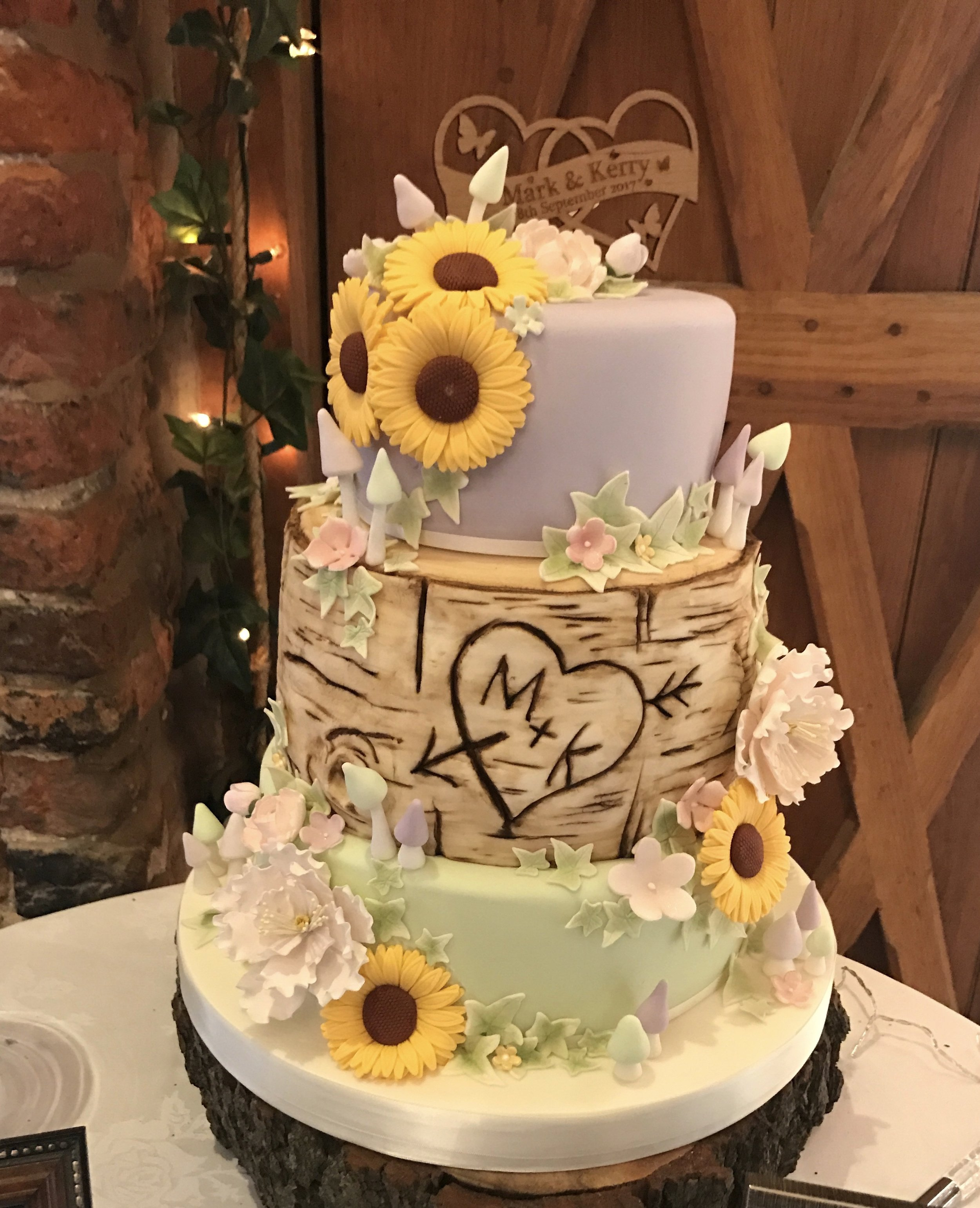 £450  Sunflowers and Log   Enquire