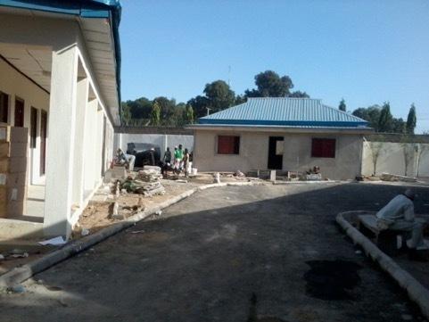 Kano, Nigeria EOC during renovation