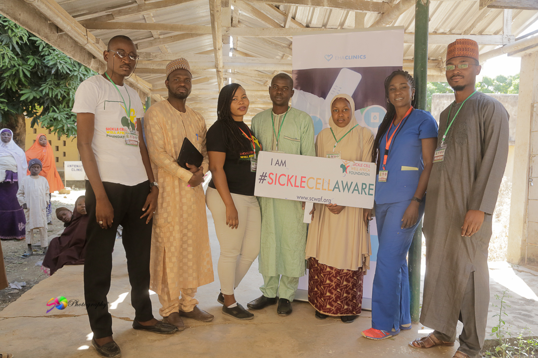 eHA's Sickle Cell Campaign in Bauchi and Gombe State.