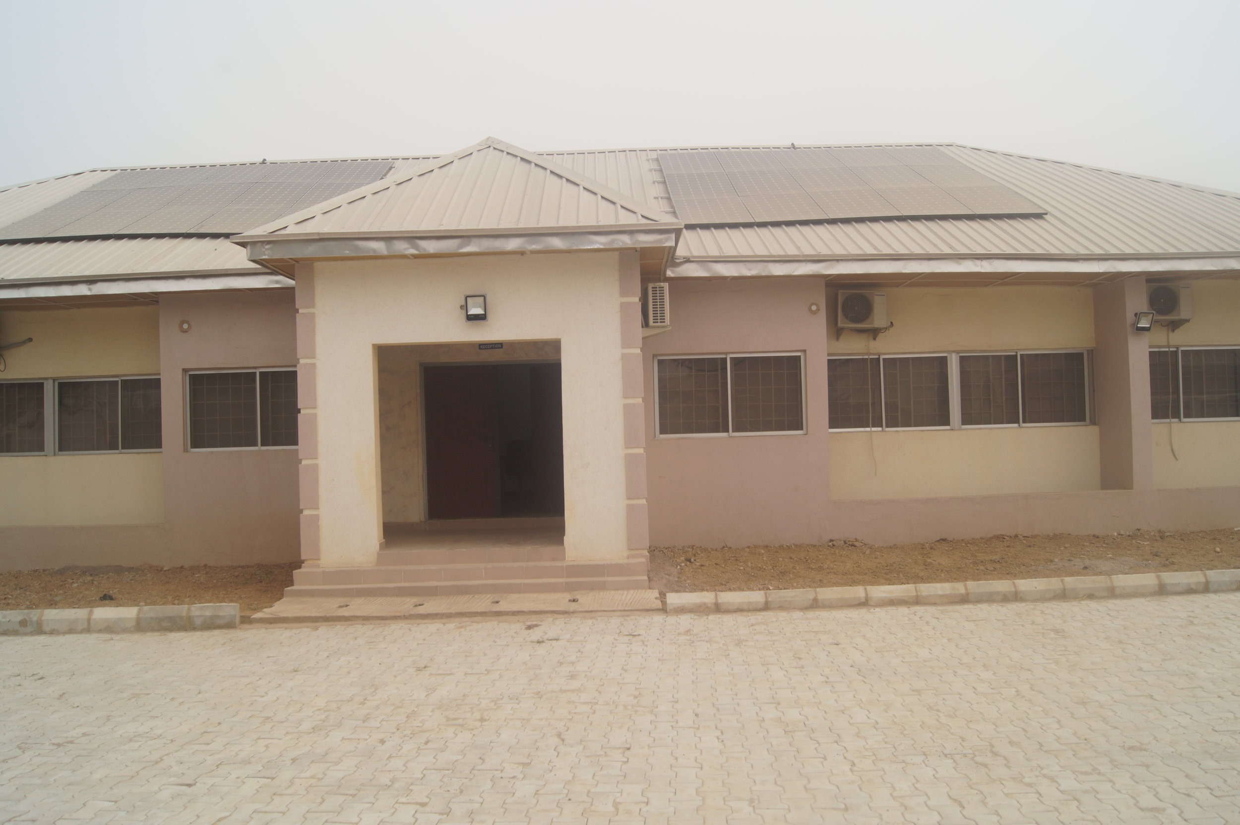 The renovated NPHCDA zonal office in Kano