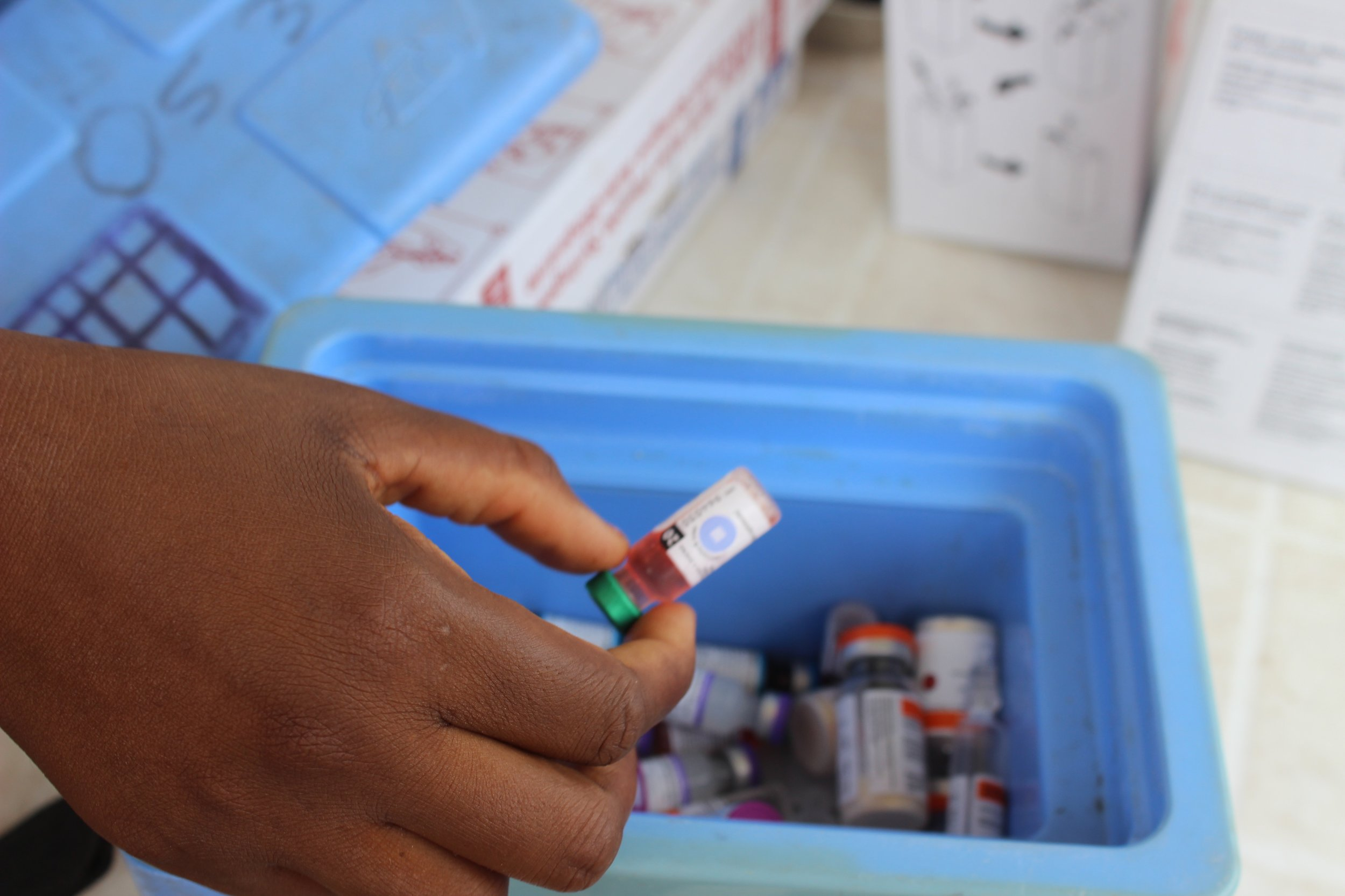 Vaccines are some of the most essential health commodities