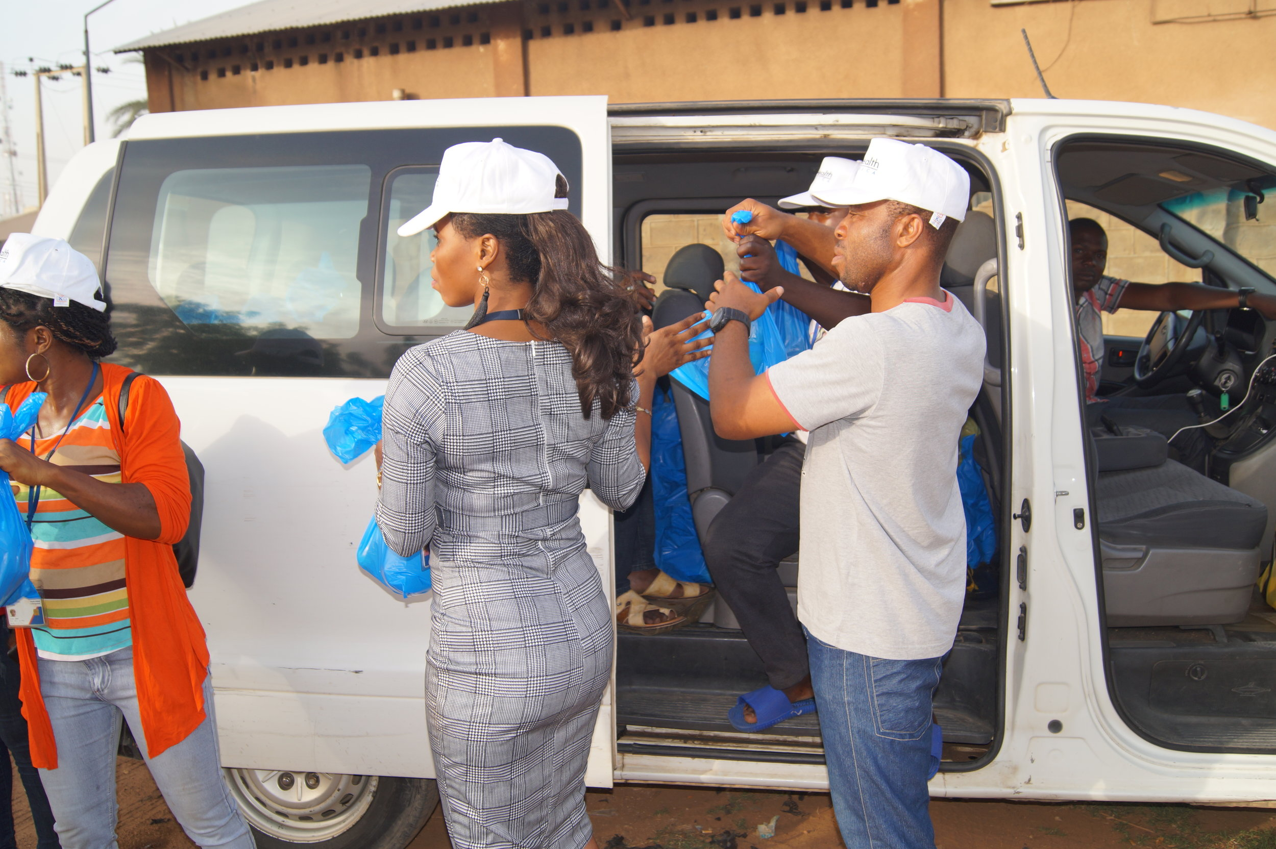 The distribution begins in Kano