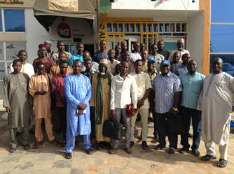 Participants in Maradi, Niger after the training