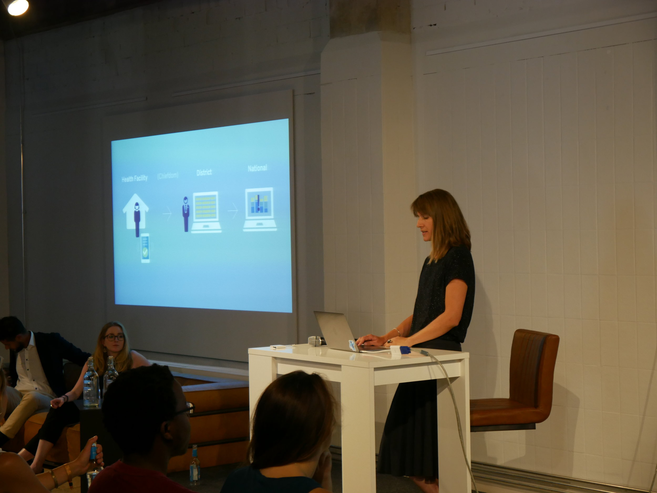"Sabine Claassen, Senior UI/UX Designer at eHA discussing ""Problem-first Design"""