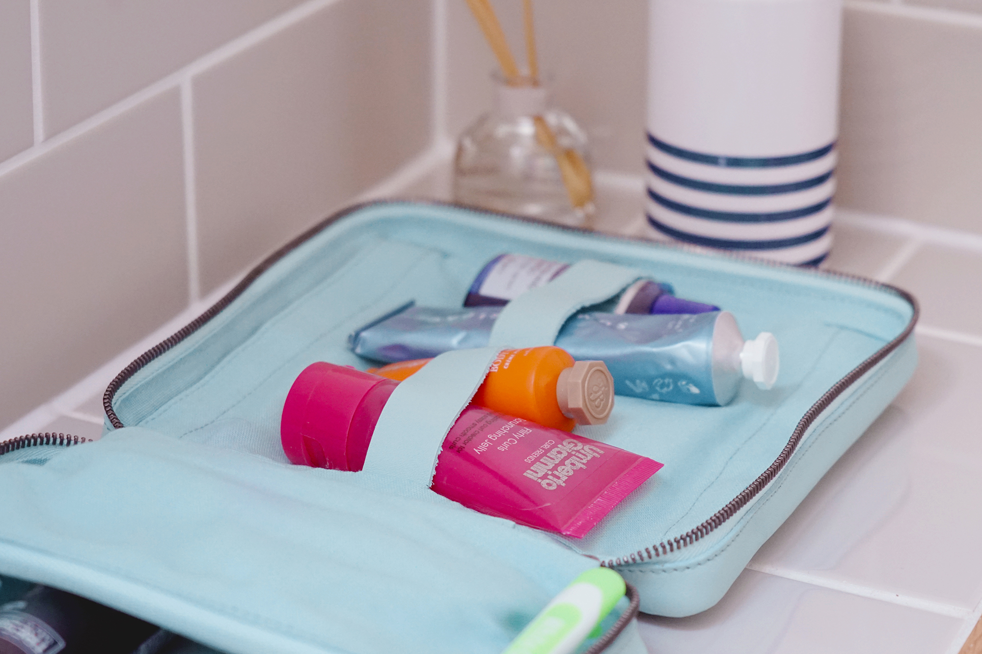 Ritual wash kit in mint