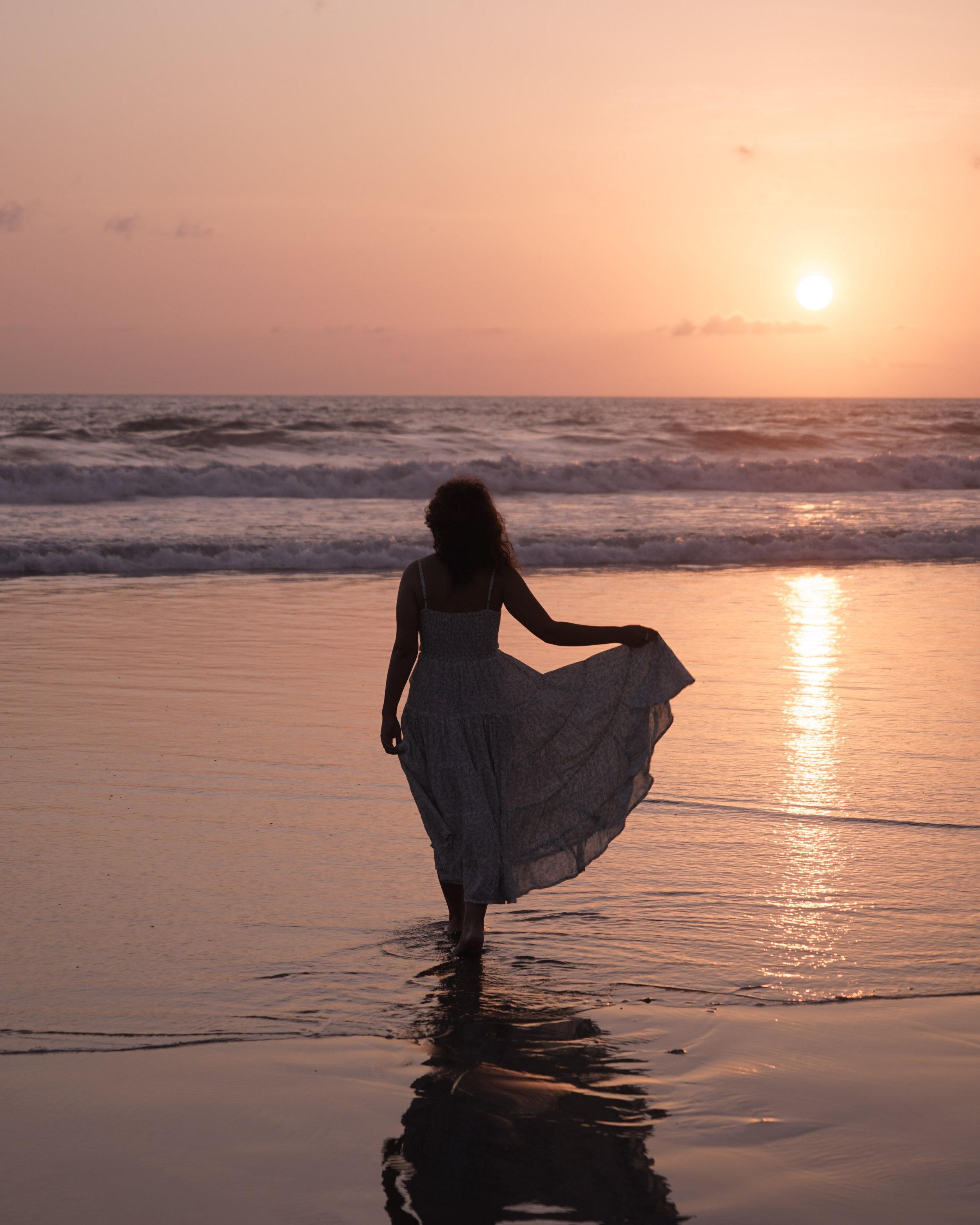Jasmine Marilyn midi in Sage  from Beachgold  Photographer: @michaelwilliamlester