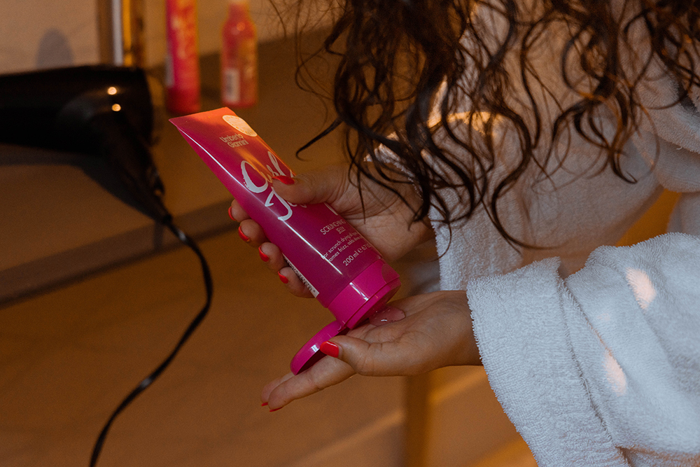 Umberto Giannini, Curly hair, Curl Jelly, Hawaii, Step-by-step, How to