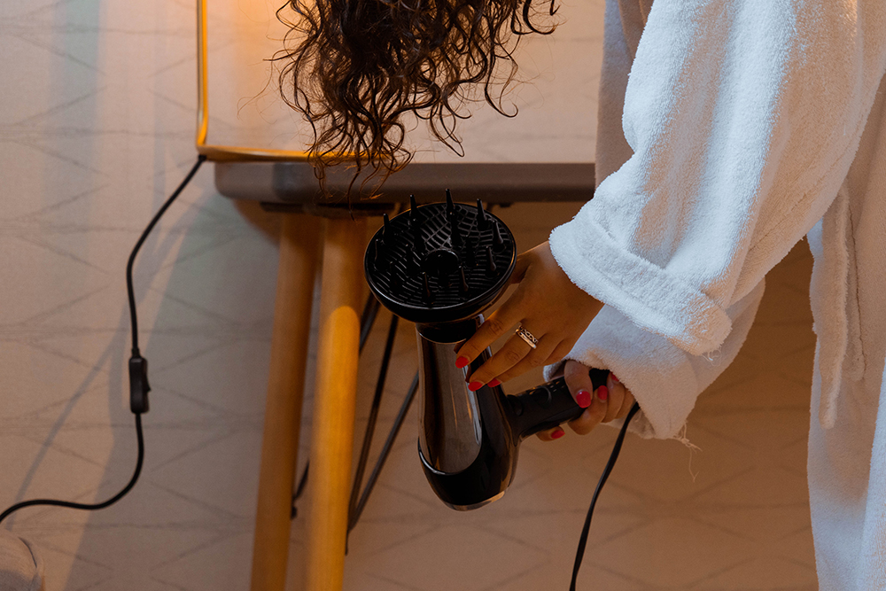 Umberto Giannini, Curly hair, Curl Jelly, Hawaii, Step-by-step, How to, Diffuser, Hairdryer