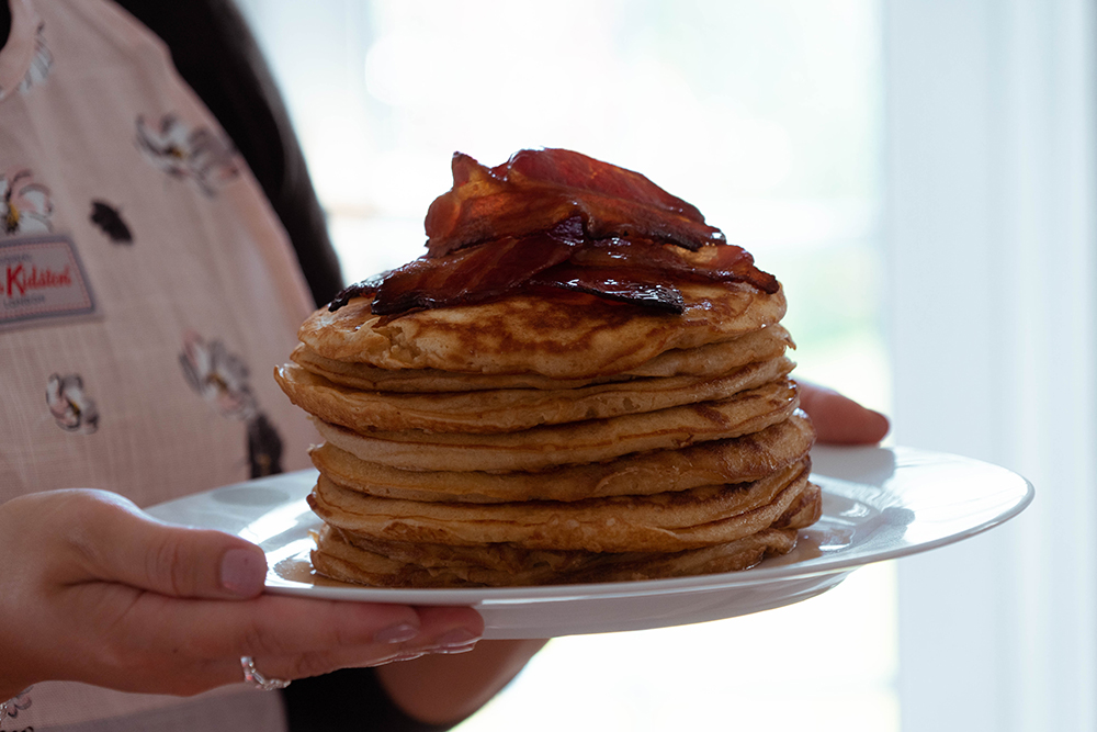 Postcards from Hawaii American Buttermilk Pancakes Recipe