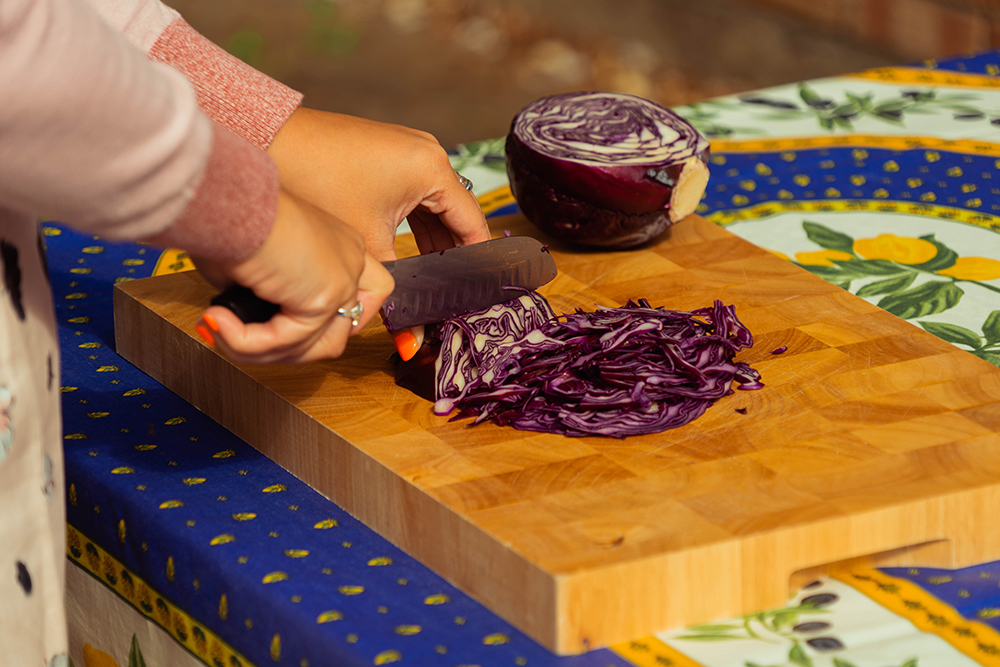 PFH, Purple Coleslaw, Recipe, 4th July