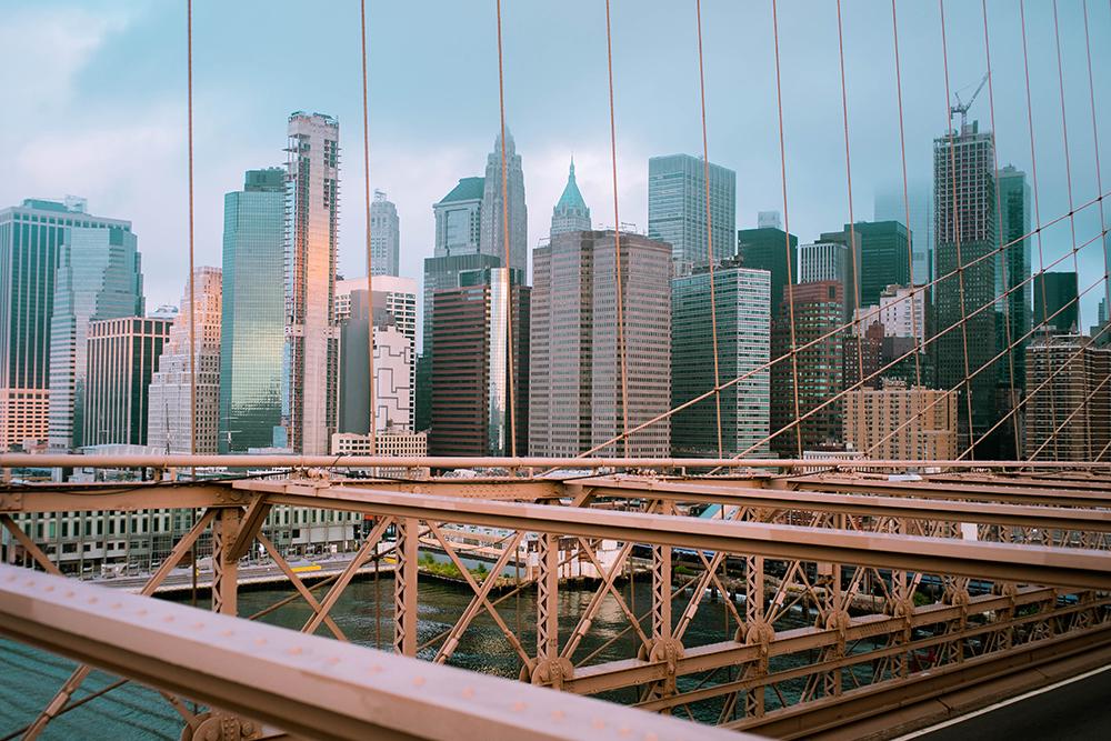 Postcards from Hawaii, NYC, New York City, Itinerary, Brooklyn Bridge