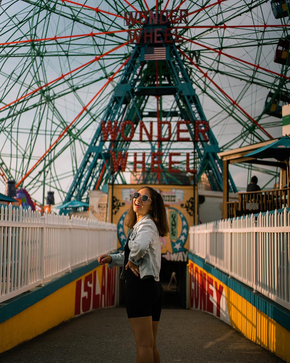Postcards from Hawaii, NYC, New York City, Itinerary, Coney Island
