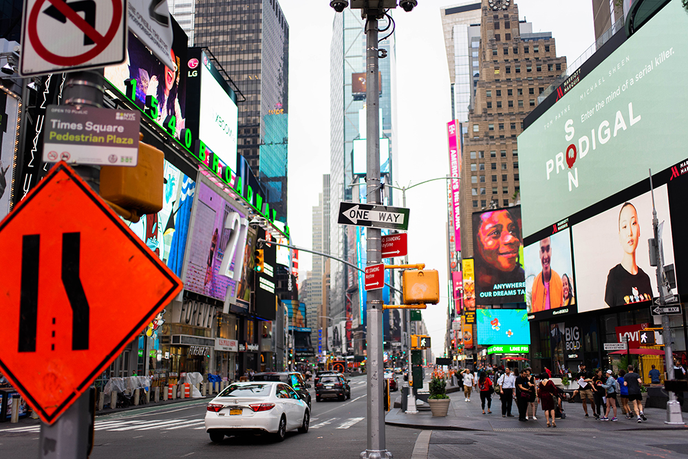 Postcards from Hawaii, NYC, New York City, Itinerary, Times Square