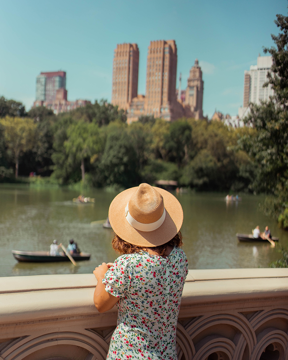 Postcards from Hawaii, NYC, New York City, Itinerary, Loeb Boathouse, Central Park, Bow Bridge