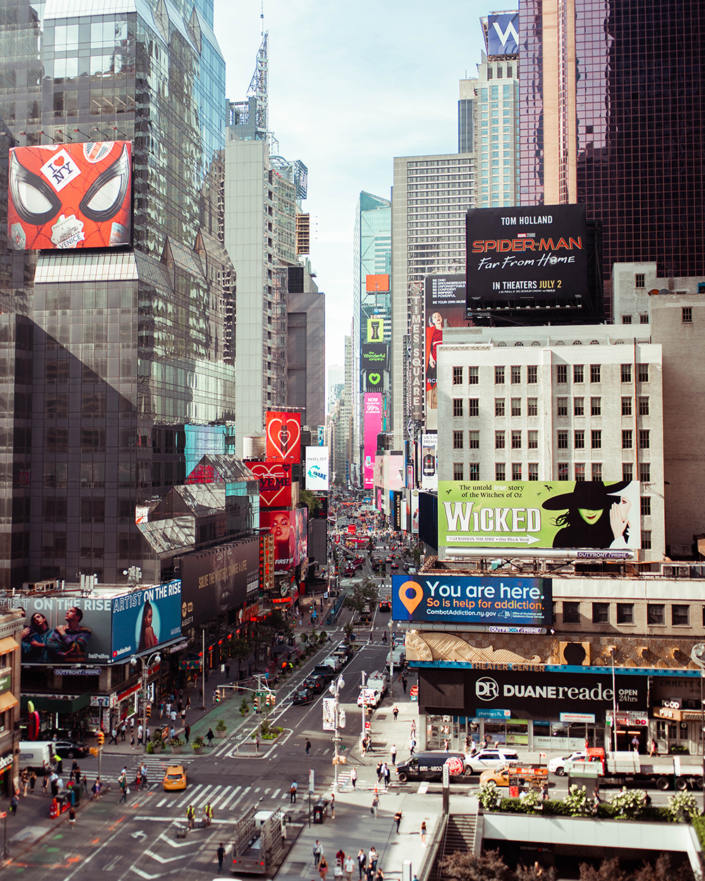 Postcards from Hawaii, NYC, New York City, Itinerary, Times Square, Novotel