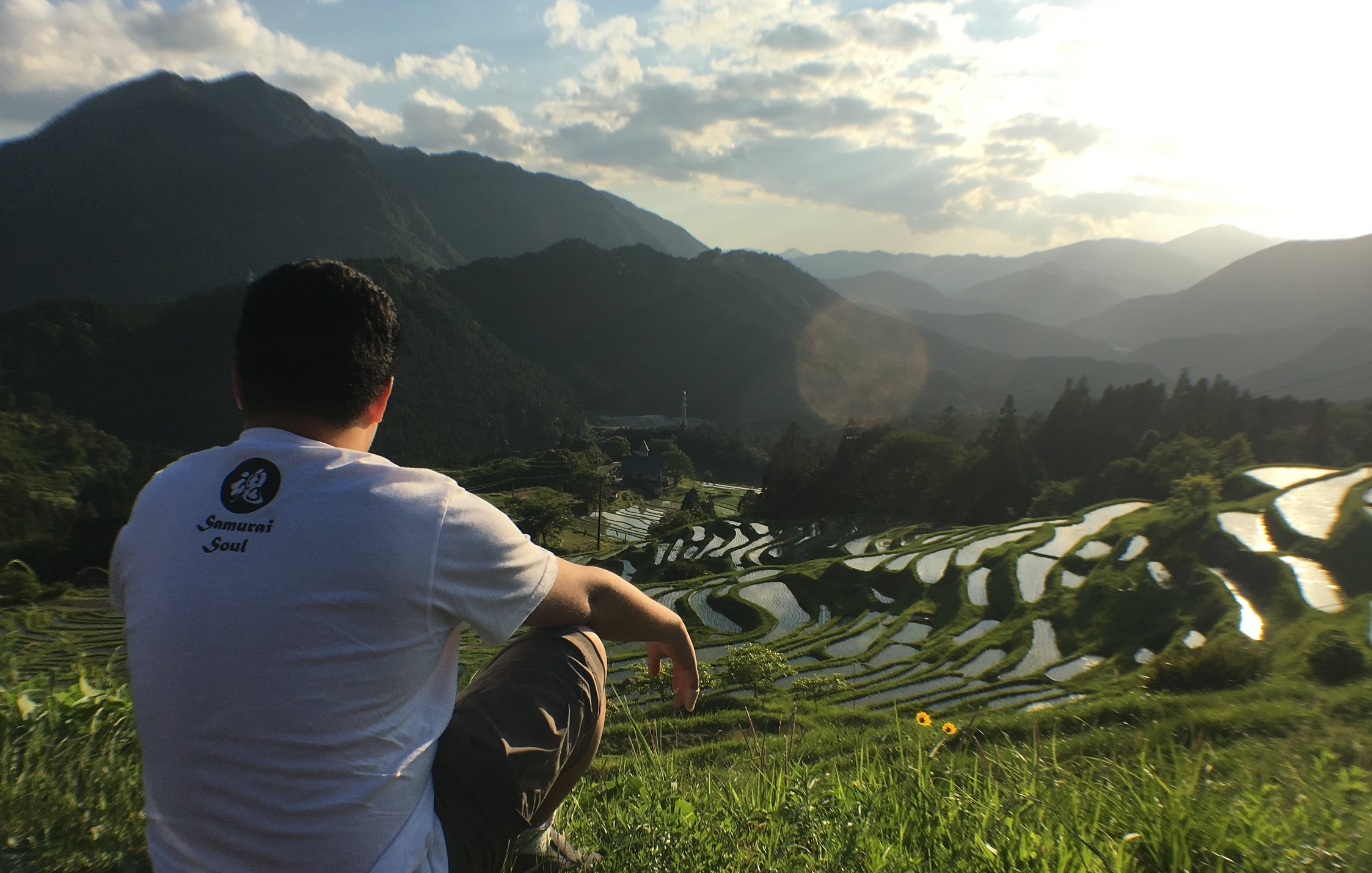 Maruyama Senmaida Rice Fields - because #ballerShot