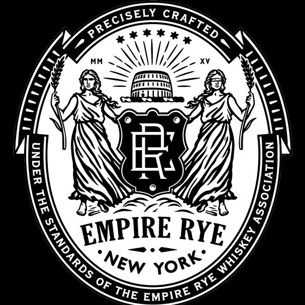 Standard of Identity - Only a whiskey made according to the precise standards agreed upon by the Empire Rye Whiskey Association may be called Empire Rye and bear the mark on its bottle.