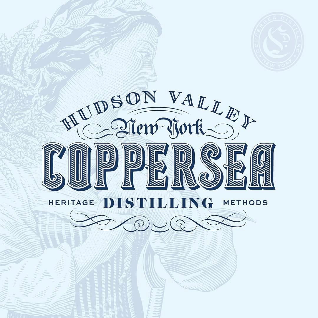 Coppersea Distilling   -Bonticou Crag Striaght Rye Malt Whiskey