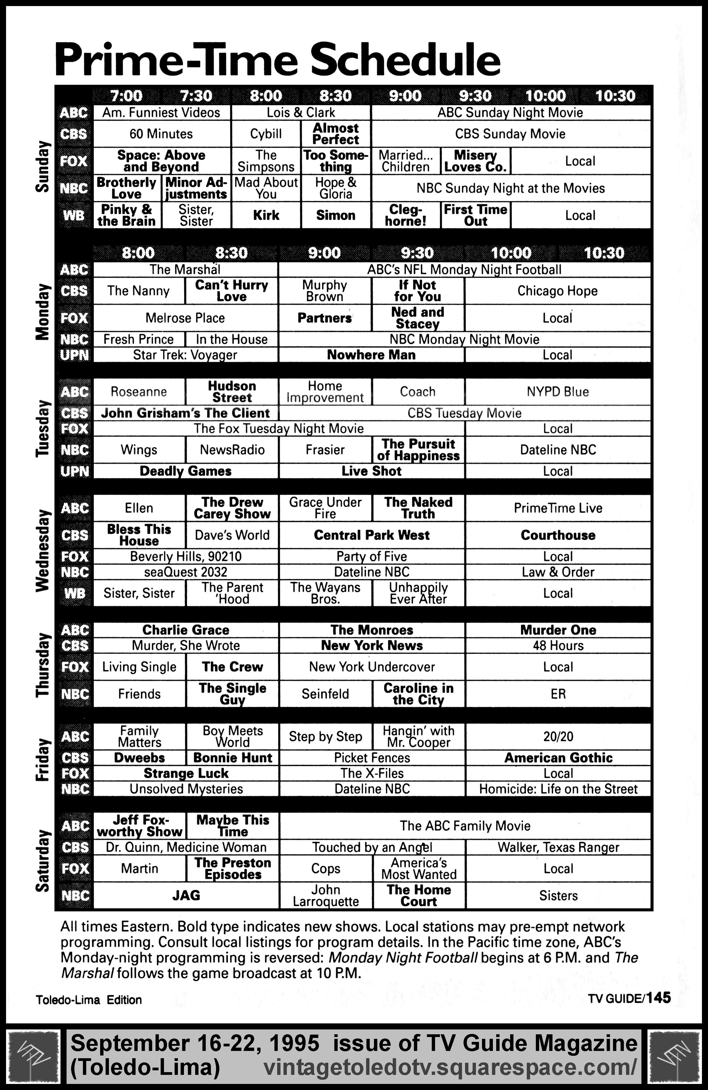 Nbc tv schedule today