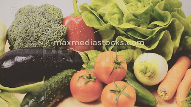 Fresh #veggies; royalty free #video #music and other #media at #maxmediastocks CHECK IT OUT!