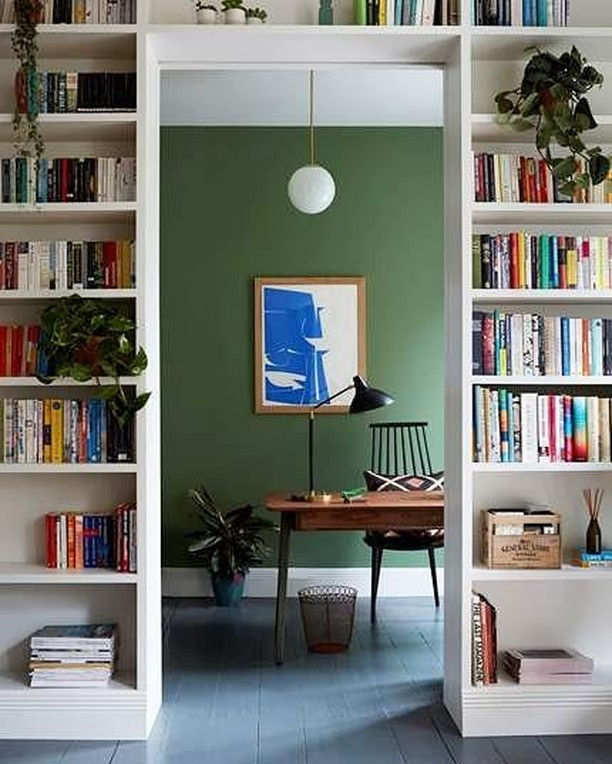 A perfect separation between living and working space could be this book shelf. The inspirational goal to your home office space. . . . #homeoffice #upscaleinteriorsAG #designthelifeyoulove #dekor #germaninteriorbloggers #zuhause #dekoration #inneneinrichtung #architekturbüro #interiør #interiör #interiordesigner #interiorstyle #interiorinspo #interiorandhome #interior4all #homestyling #interiorforinspo #passion4interior #interiorlove #interior123 #interiorlovers #interiorforyou #interiorideas #instahome #interiordesignideas #passionforinterior #dreaminterior #interiorgoals  I  via  @livingetcuk