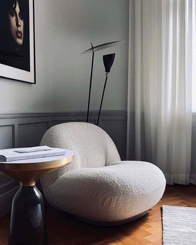 There are shapes you fell in love with immediately. The Pacha Lounge Chair is one of our favourite design pieces. With it beautiful shape it will bring life and character to any interior settings . .  #upscaleinteriorsAG #designthelifeyoulove #dekor #germaninteriorbloggers #zuhause #dekoration #inneneinrichtung #architekturbüro #interiør #interiör #interiordesigner #interiorstyle #interiorinspo #interiorandhome #interior4all #homestyling #interiorforinspo #passion4interior #interiorlove #interior123 #interiorlovers #interiorforyou #interiorideas #instahome #interiordesignideas #passionforinterior #gubi #gubiofficial #pachachair #pierrepaulin I Via  @gubiofficial