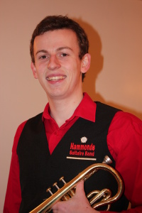 Photograph of Philip Varley, principal cornet of the Hammonds Saltaire Band