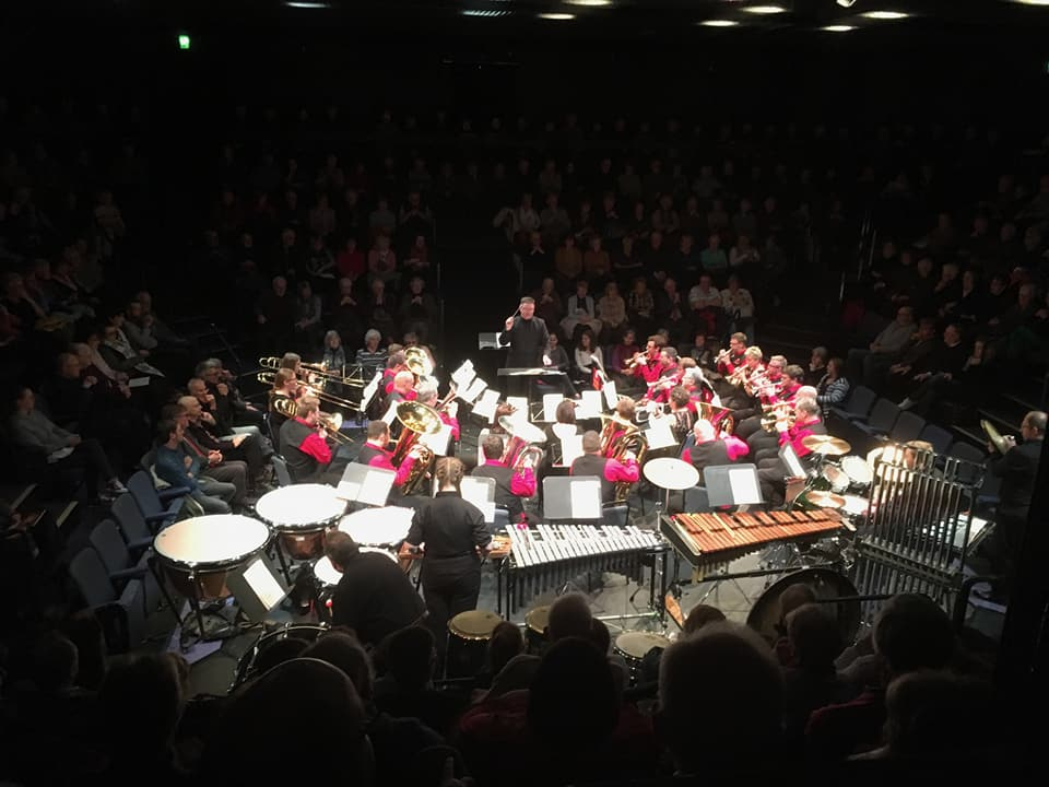 The band in The Round at The Stephen Joseph Theatre