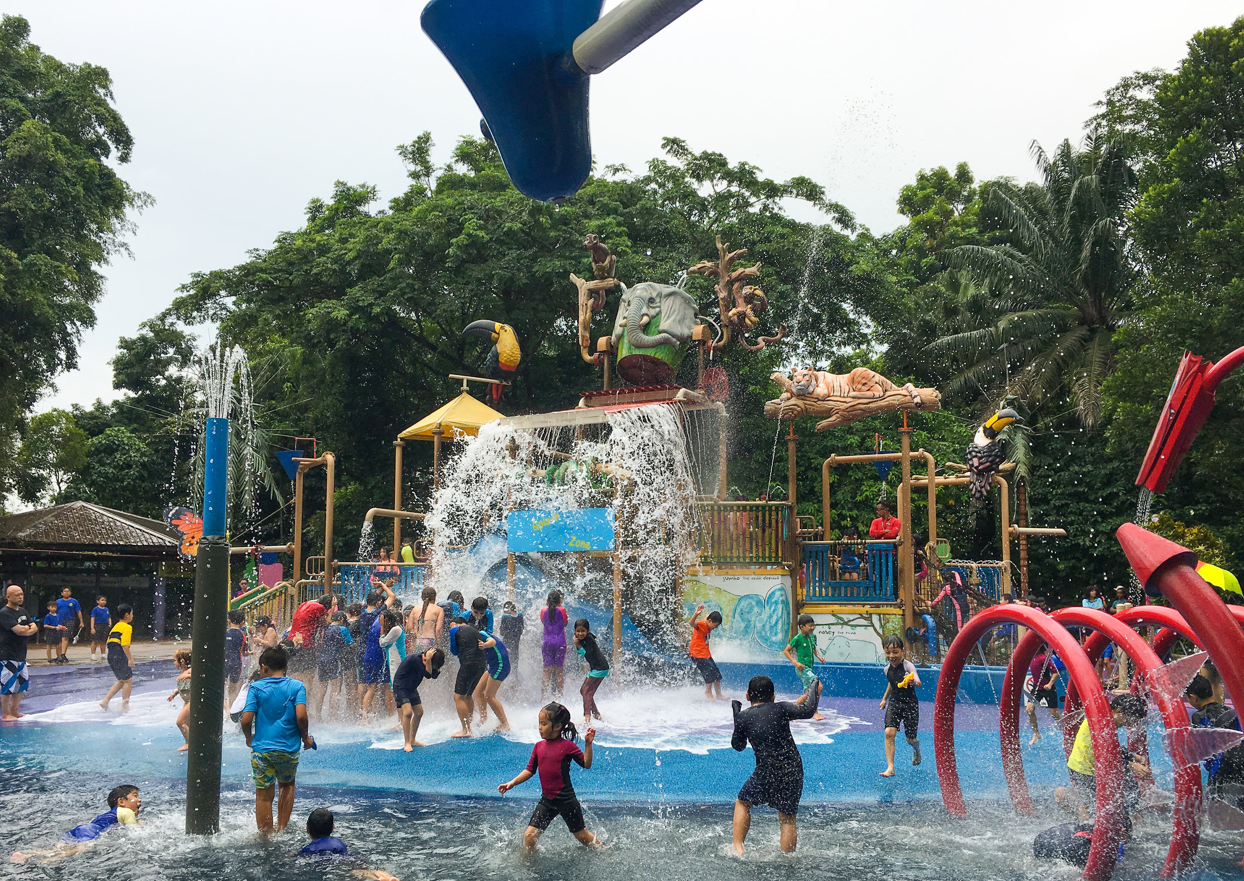 Kidzworld, Singapore Zoo, 2018