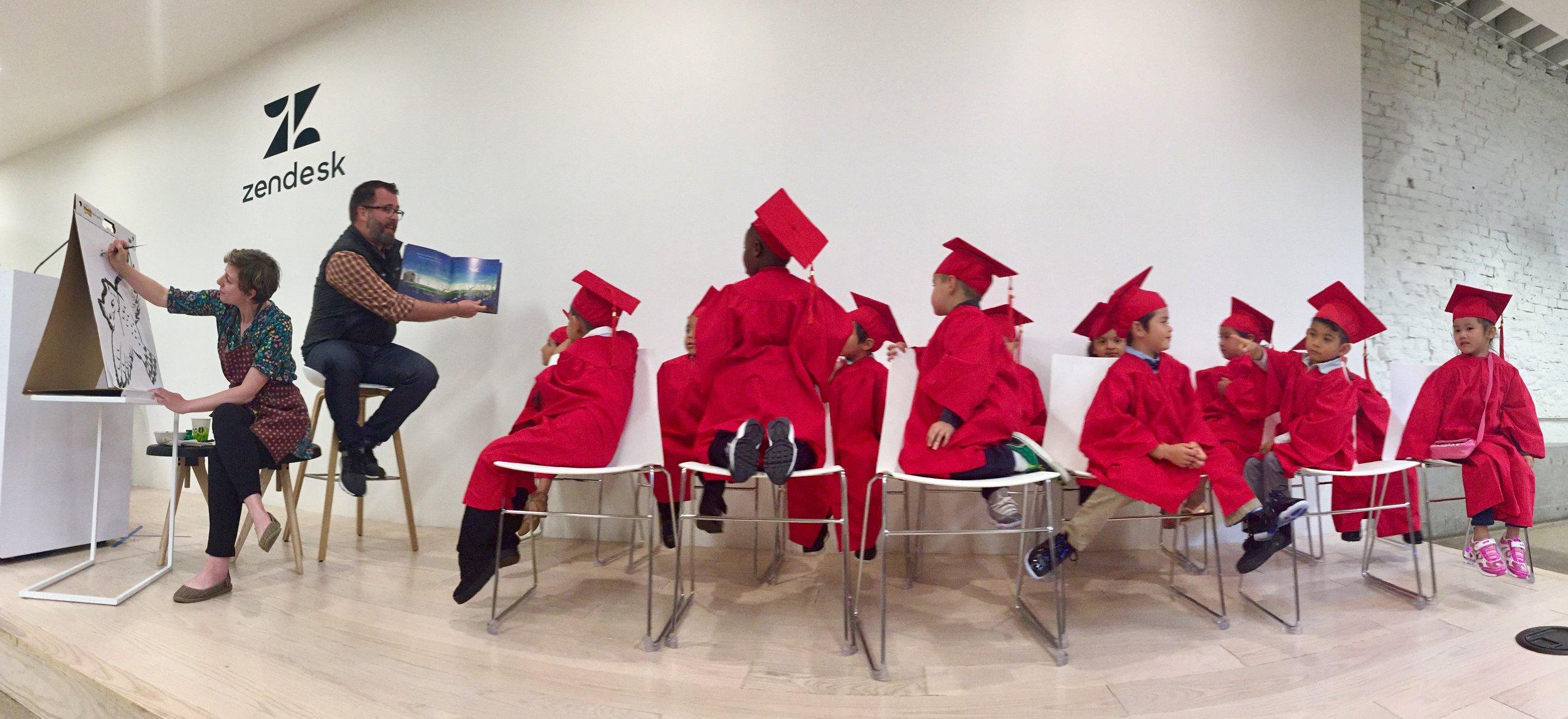 CCC Graduation stage