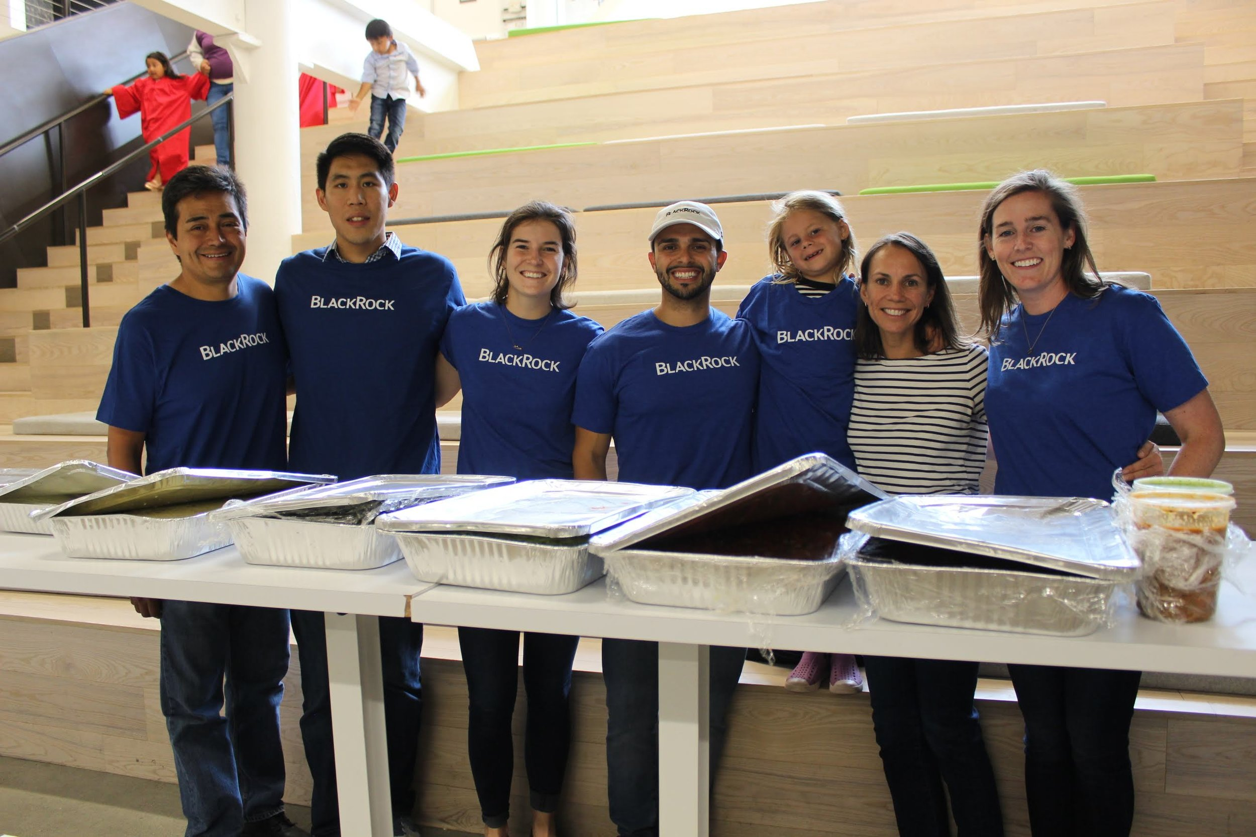 A huge thanks to BlackRock for their continued support of Compass programs and coming out to volunteer serving dinner after the ceremony.